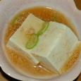 豆腐の明太子あんかけ
