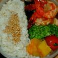 ある日のお弁当より☆えびのチリソース(手抜き版)