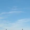 かすかな飛行機雲