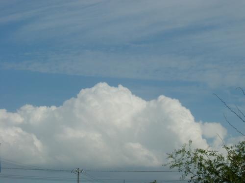 もくもくの雲